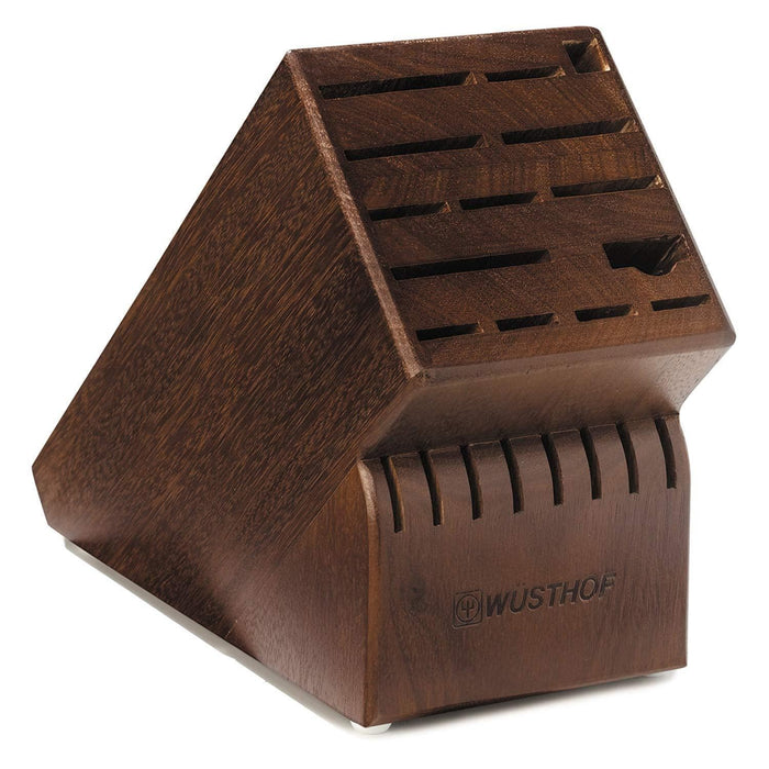 22 slot Walnut Knife Block