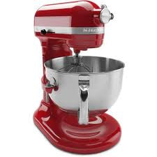 KitchenAid Red Professional 600 series 6qt Stand Mixer