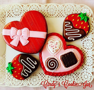 February 13th @ 6 PM Hands-On Cookie Decorating w/ Cindy Atkins