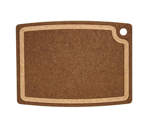 Gourmet Cutting Board Nutmeg/Natural