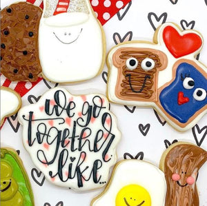 February 9th @ 6:00 PM What a Pair! Cookie Decorating w/ Jaymie
