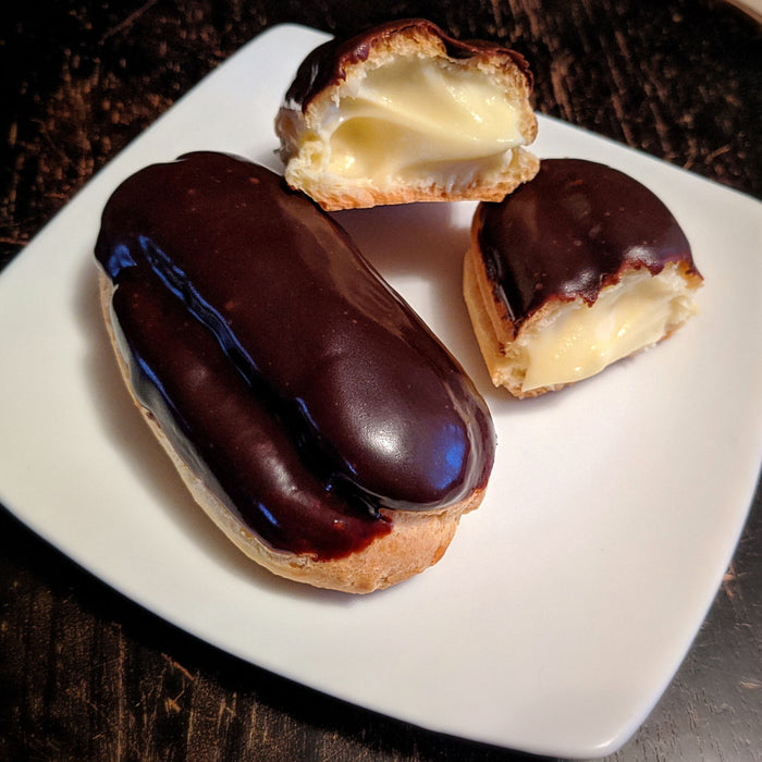 April 24th @ 1:00 PM Hands-on Pâte à Choux and Eclairs