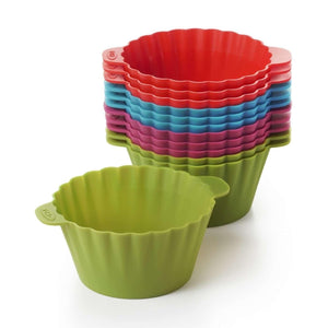 Silicone Baking Cups (12 Pack)