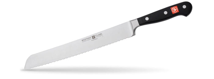 Wusthof Classic Double Serrated Bread Knife 9""