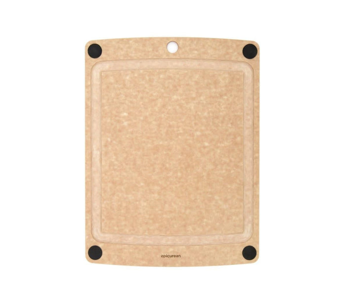 Epicurean All in One Board 14.5 x 11.25 Natural/Black Feet