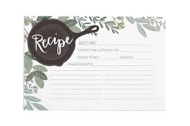 Herb Skillet Recipe Cards, 15