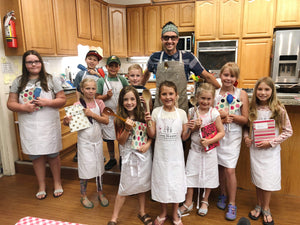 June 4-6, Kid's Cooking Camp - Advanced Class