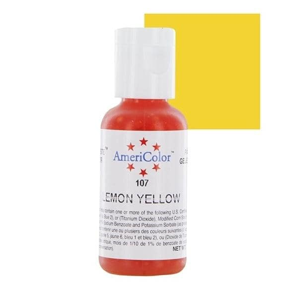 Lemon Yellow Soft Gel Paste