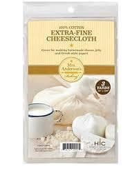 Extra Fine Cheesecloth