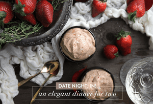 August 23rd @ 6 PM - Date Night: 3 Kinds of Pizza & Chili Chocolate Ice Cream w/ Wil & Lauren