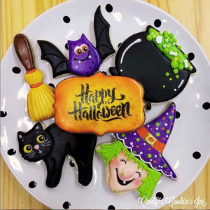 "October 16th @ 6 PM ""Trick or Treat, Smell My Feet"" Hands-On Cookie Decorating w/ Cindy Atkins"