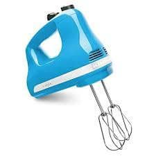 Hand Mixer 5 Speed Blue