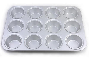Fat Daddios Standard Muffin Pan- 12 cup