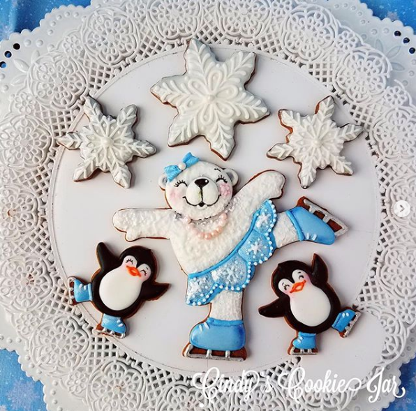 January 16th  @ 6 PM Hands-On Cookie Decorating w/ Cindy Atkins