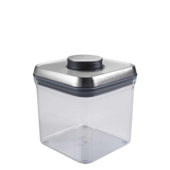 OXO SteeL POP Container -Big Square (2.4 Qt)