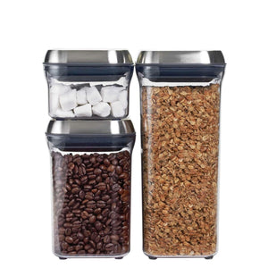 OXO SteeL 3-Piece POP Container Set