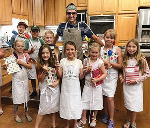 "Four Week Course ""Chopped"" Hands-on Kid's Classes w/ Wil"