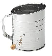 5 Cup Crank Sifter