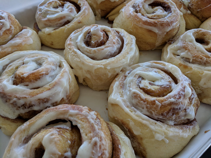 March 24th @ 6PM Hands-On Scrumptious Cinnamon Rolls w/Patty
