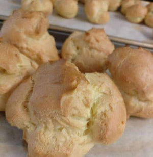 August 10th  Hands -On Pate a Choux Pastries - Cream Puffs & Eclairs w/ Kanako Arnold