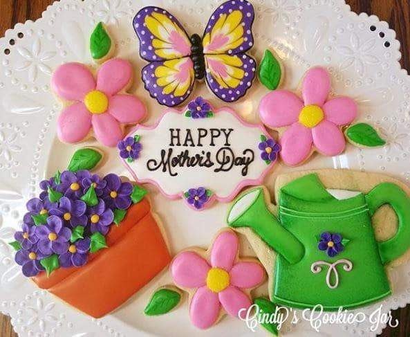 May 2nd @ 6 PM Hands-On Mother's Day Cookie Decorating w/ Cindy Atkins