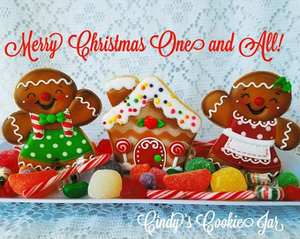 "November 14th @ 6 PM ""Bake it a Merry Christmas"" Hands-On Cookie Decorating w/ Cindy Atkins"