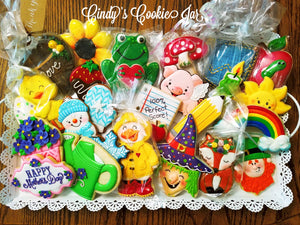 April 9th @ 6 PM Hands-On Cookie Decorating w/ Cindy Atkins