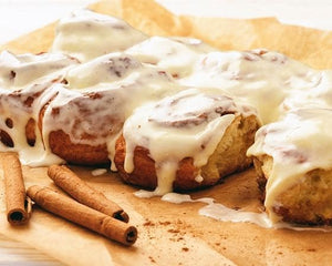 January 8th @ 6 PM Hands-On Scrumptious Cinnamon Rolls w/ Patty