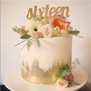 January 12th @ 6 PM - How to Make the Perfect Party Cake Hands-On s/ Jaymie Maughan