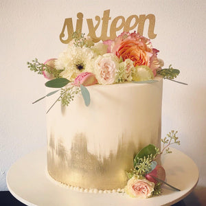 "September 14th @ 11 AM Advanced - How to Make the Perfect Party Cake Hands-On "" w/ Jaymie Maughan"