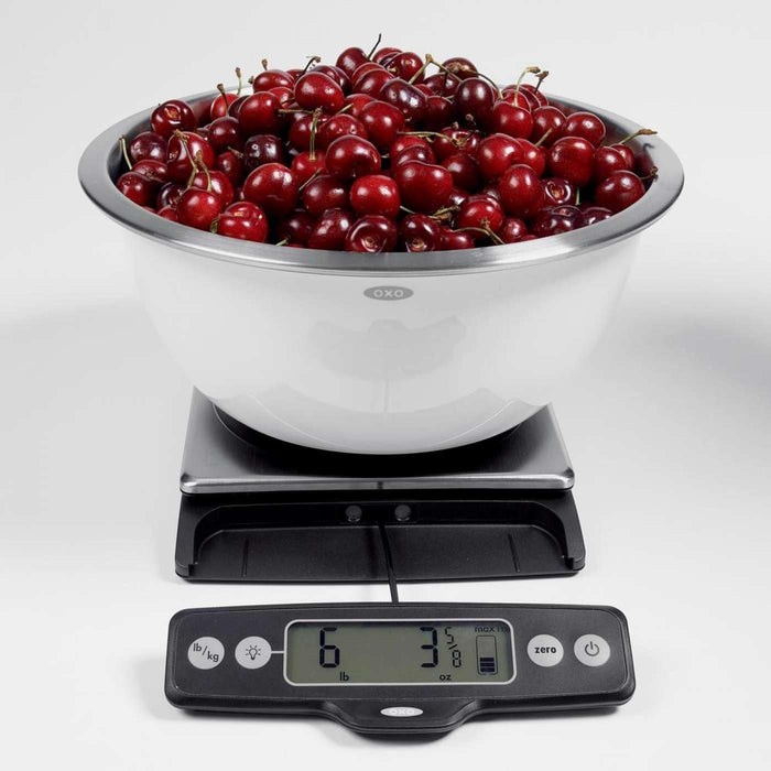 OXO Good Grips 11 lb Food Scale w/ Pull Out Display
