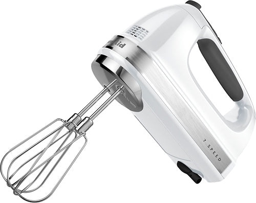 Hand Mixer 7 Speed White