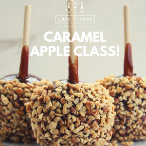 October 11th - Hands-On Gourmet Holiday Caramel Apples with Wil