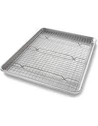 "Half Sheet Baking Cooling Rack 16 1/2"" x 11 3/4"""