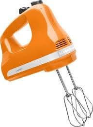 Kitchen Aid Hand Mixer 5 Speed Tangerine