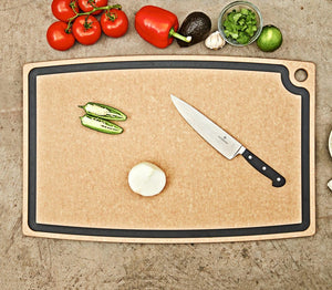 Chef Cutting Board Nat/Slate 29X17.5