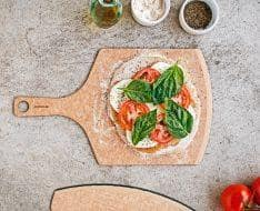 Natural Pizza Peel 17x10