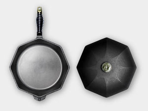 Finex Cast Iron Skillet w/lid 12""