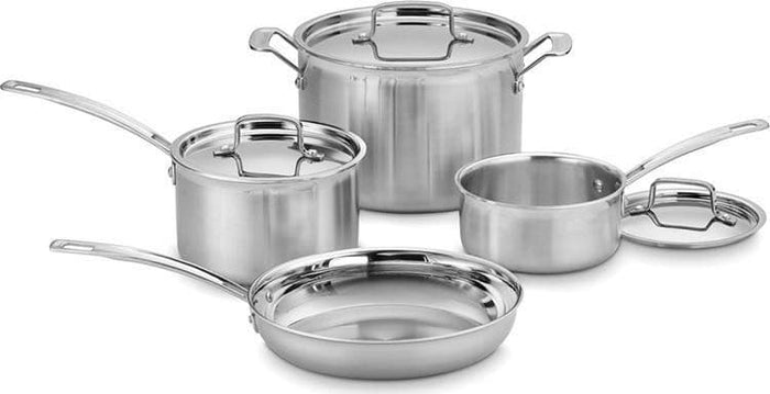 Cuisinart Multiclad 7PC SET Stainless Steel