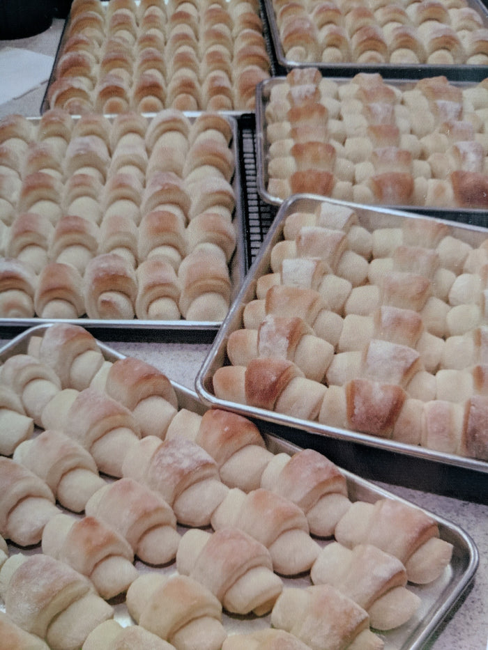 November 9th @ 11AM Three Easy Heavenly Holiday Rolls w/ Kelly