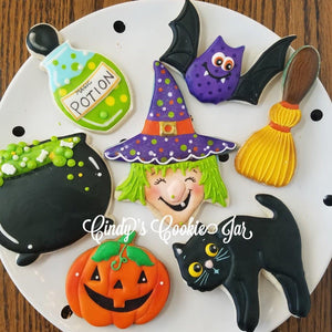October 25th -  6PM Halloween Hands-On Cookie Decorating w/ Cindy Atkins