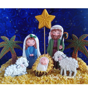 November 16th & 17th - Nativity Holiday Decorating Cookie Class w/ Cindy Atkins