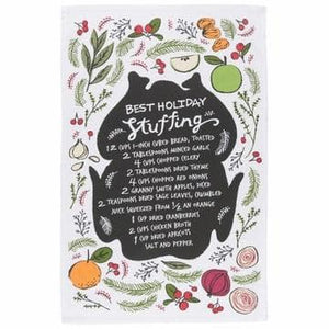 Now Designs Tea Towel Holiday Stuffing