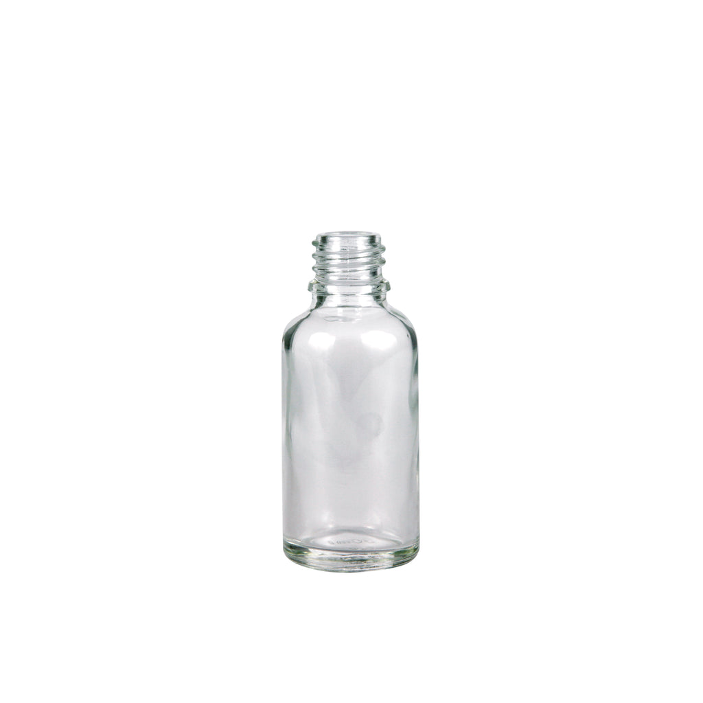 30ml Clear Glass Bottle