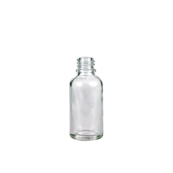 15ml Clear Glass Bottle