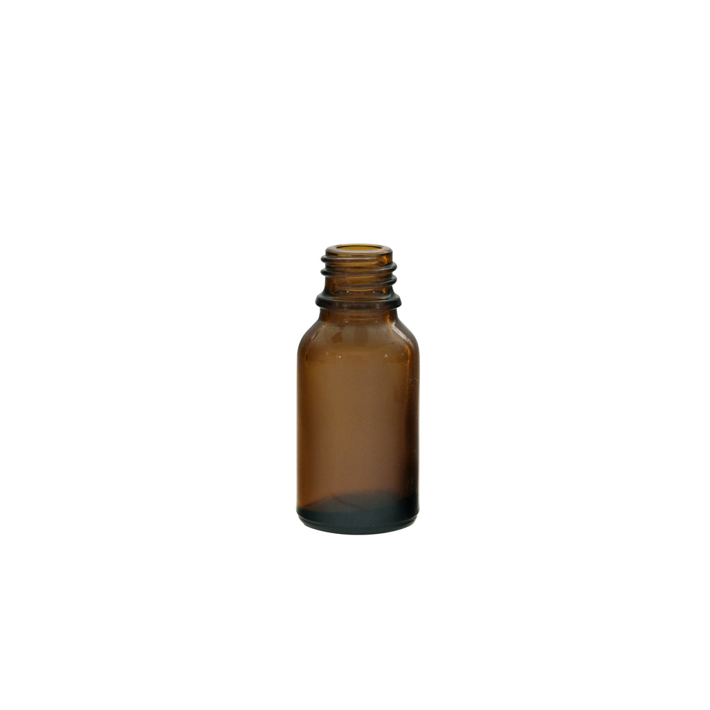 15ml Amber Glass Bottle