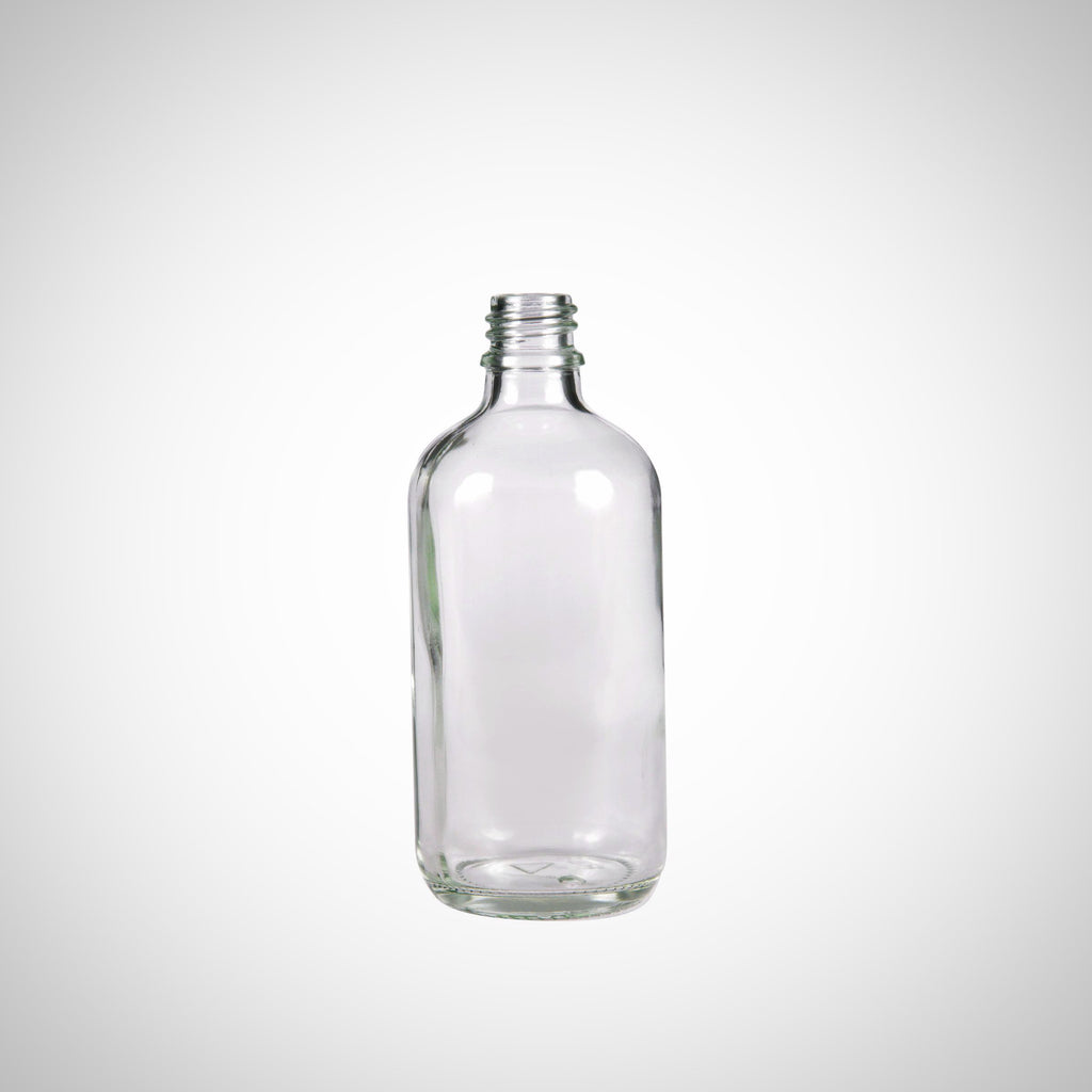 100ml Clear Glass Bottle
