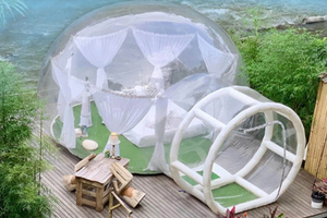 Inflatables And Bubble Domes Because You Can Have Your Wedding Anywhere!