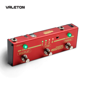 Valeton Dapper Looper Mini 3 Footswitch Guitar Pedal