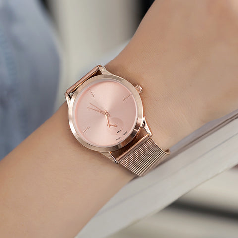 Ultra Thin Steel Watch